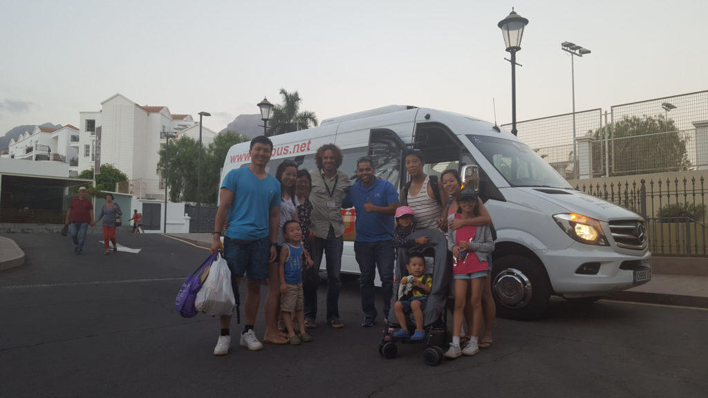 Private bus sightseeing tours in Tenerife by Tenerife Host